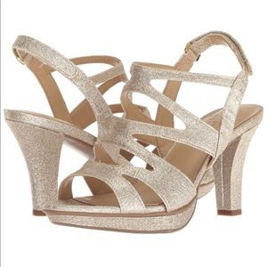 NATURALIZER Dianna Caged Slingback Heel Sandals 9M